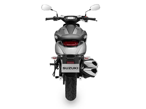 Suzuki Intruder 150 Rear look image