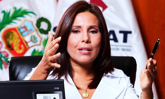 Exjefa de Sunat, Tania Quispe