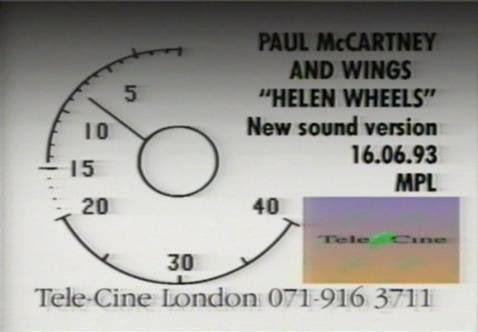 The Daily Beatle: Paul McCartney - Music video index