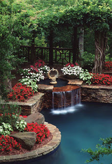 Gorgeous Backyard Ponds Water Gardens Ideas