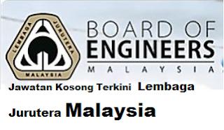 Jawatan Kosong Terkini Lembaga Jurutera Malaysia