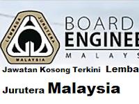 Jawatan Kosong Terkini Lembaga Jurutera Malaysia 30 Jun 2017
