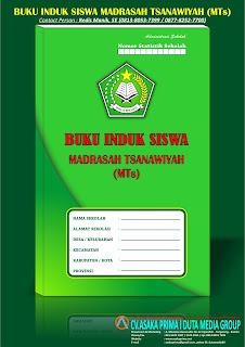 Madrasah Tsanawiyah (MTs),Buku Induk Siswa MTs Kurikulum 2013,Buku Induk Siswa MTs,Buku Induk MTs,jual Buku Induk MTs