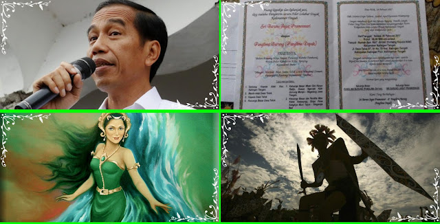 Presiden Jokowi dan Para Pejabat Diundang Pernikahan Gaib Titisan Nyi Roro Kidul dan Panglima Burung