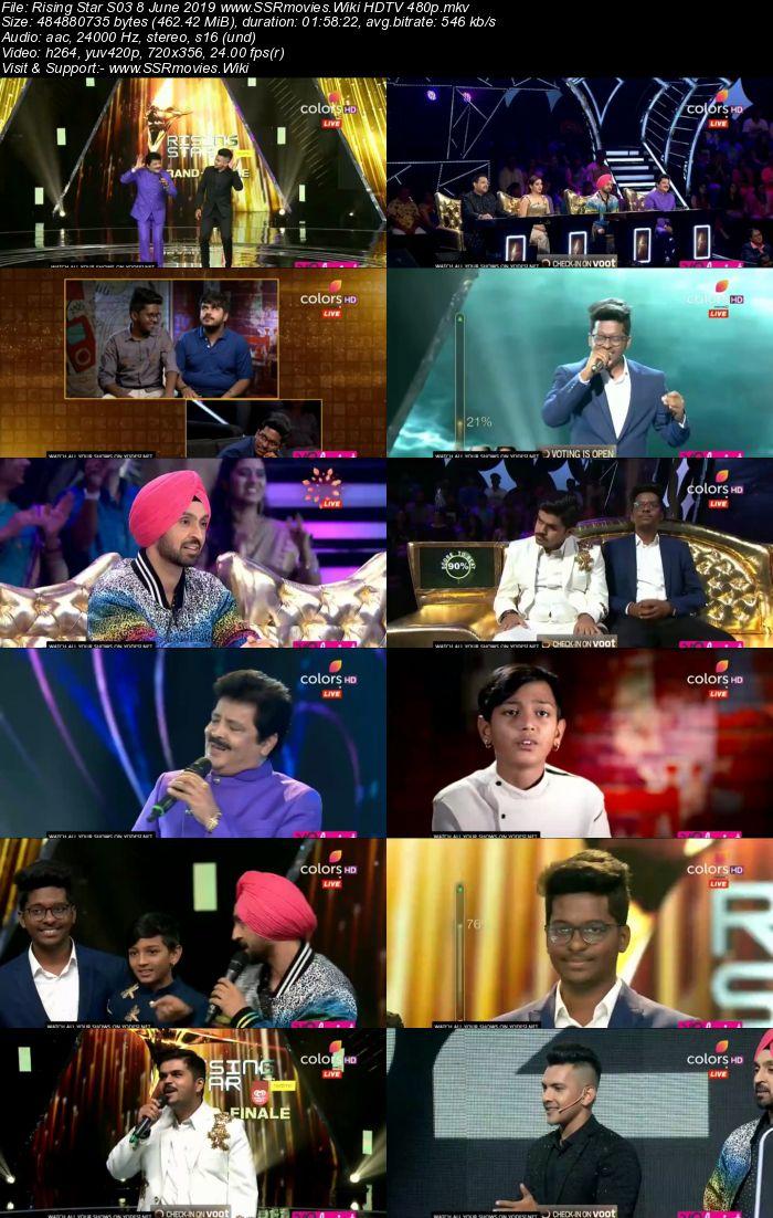 Rising Star S03 8 June 2019 (Grand Finale) HDTV 480p Download