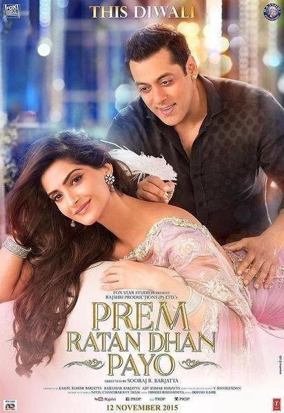 Poster of Prem Ratan Dhan Payo 2015 720p Hindi BRRip Full Movie Download
