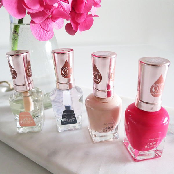 Sally Hansen Color Therapy nail polish system