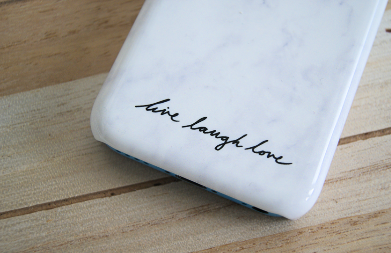 Marble phone case van Caseapp