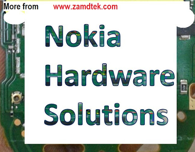 Nokia Ash 202 keypad jumper without ic.