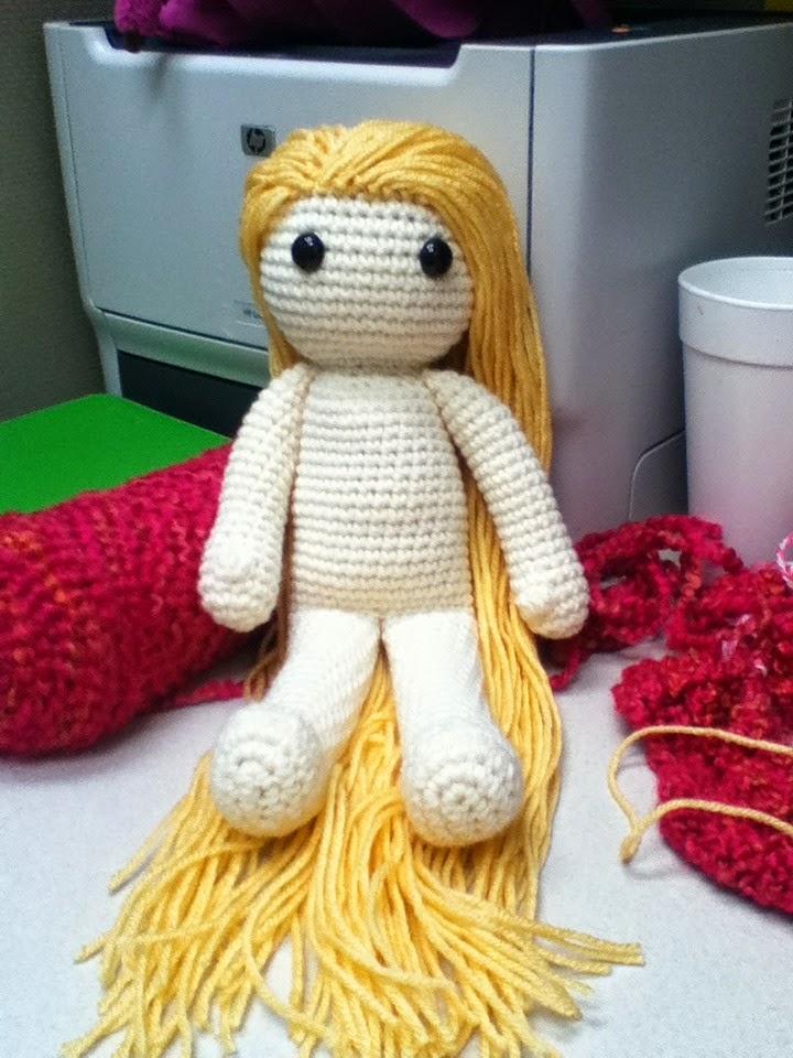Rapunzel Amigurumi Doll Crochet Pattern | Etsy | 960x720