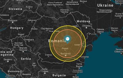 földrengés, Románia, INFP,