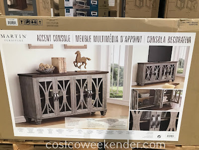 Costco 1900054 - Martin Home Accent Console: rustic yet practical
