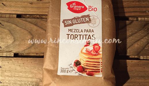 Mezcla para tortitas americanas sin gluten