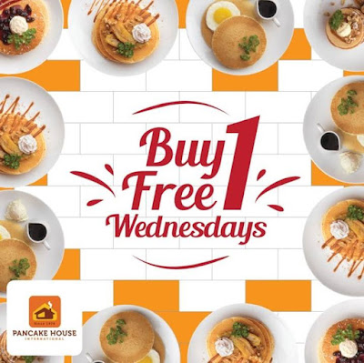 Pancake House Malaysia Buy 1 Free 1 Wednesday Promo