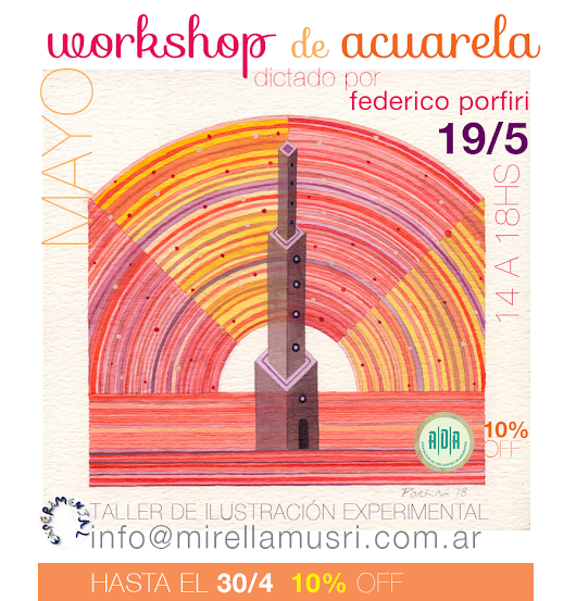 Workshop de Acuarelas - Level One