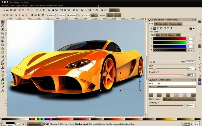 Software Inkscape