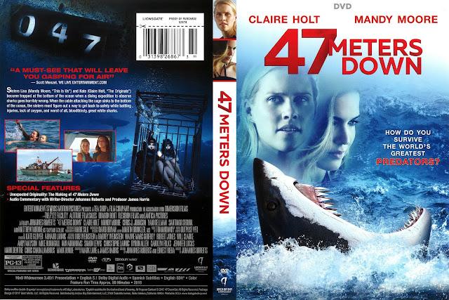 47 Meters Down DVD Cover