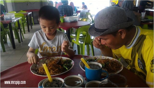 Review makan Kon Lau Mee di Restoran Nasi Ayam Sedap , Beaufort