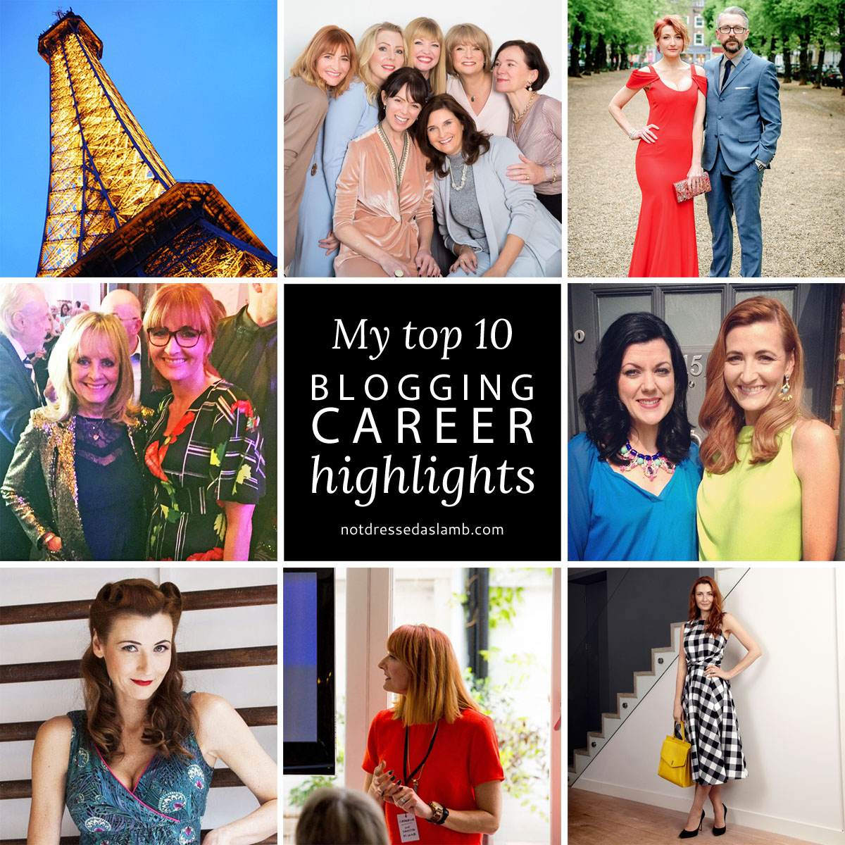 My Top 10 Blogging Career Highlights | Not Dressed As Lamb