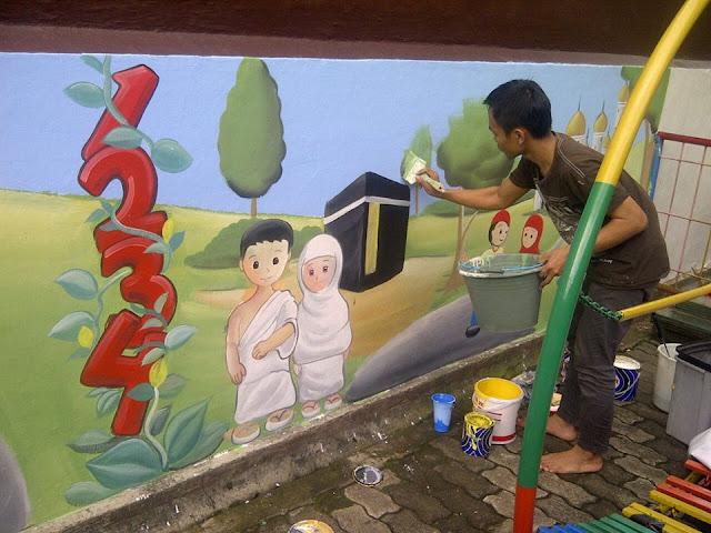 Lukisan Dinding tk/paud