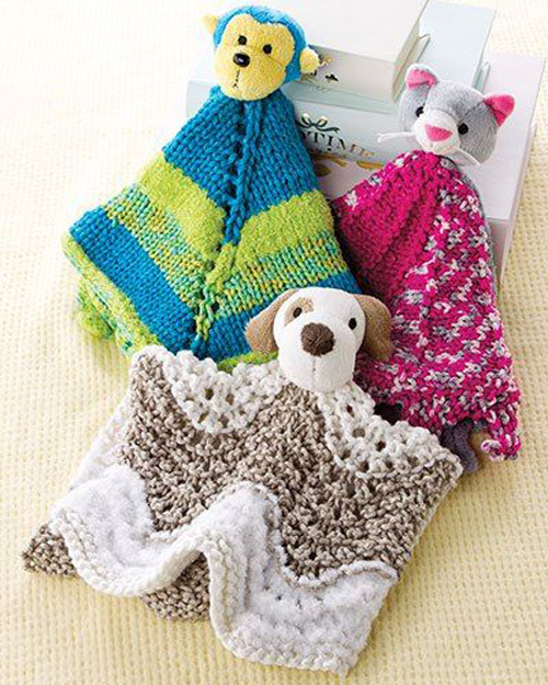 Buddy Blankies Knit Patterns