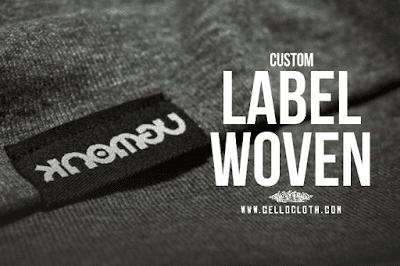 Pentingnya Label Woven Pada Produk Kaos, Tas dan Clothing Lainnya