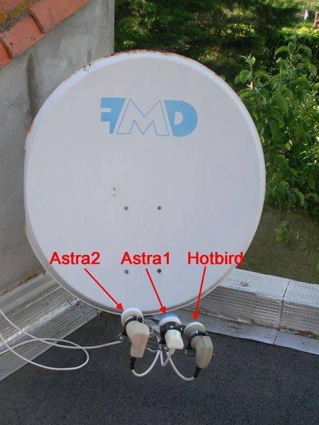 8 diseqc 1 1 vti image technosatellite - Reglage parabole astra 19 2 e ...
