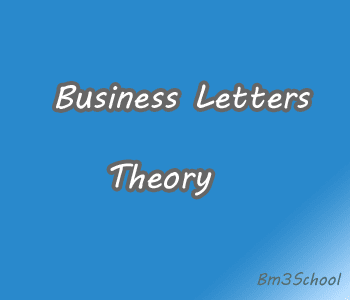 Kinds of Business Letters