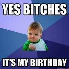 Hijo diciendo que es su cumpleaños