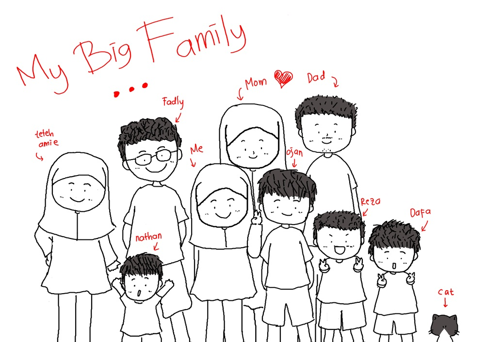 simplelooklet i love my family