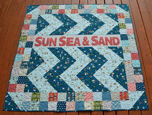 Sun Sea & Sand Quilt Free Tutorial