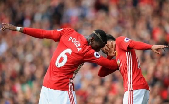 Pogba Jadi Penyelamat Manchester United, Skor 4-1 Untuk MU