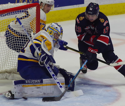 WHL: Pats' Top Line Too Much For Blades To Handle