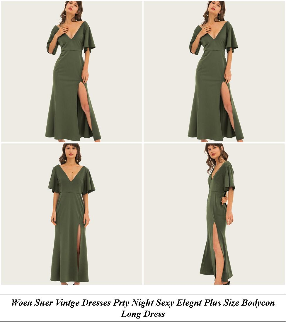 Wrap Dress Uy - Retro Style Clothes Female - Tea Length Prom Dresses Amazon
