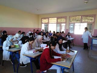 انطلاق عمليات الدعم التربوي لفائدة حوالي 500 تلميذا بثانوية الفارابي التأهيلية بأولاد عياد
