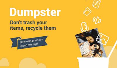cara menggunakan dumpsterr