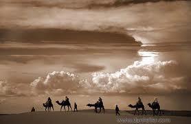 berkelana di padang pasir
