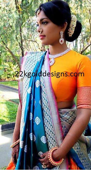 Sreeja Haldi Ceremony Jewellery
