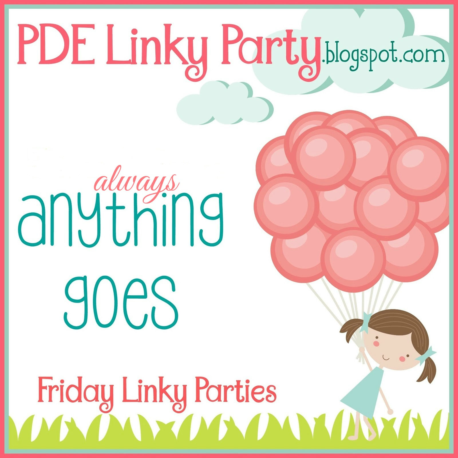 Always Anything Goes - new link up every Friday