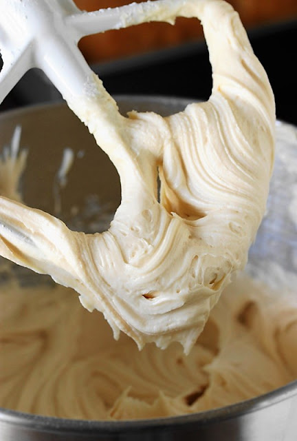 Making Caramel Cream Cheese Frosting image