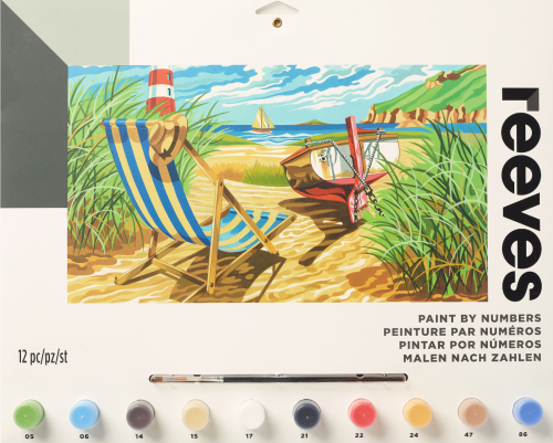 Seashore Paint by Number Kit