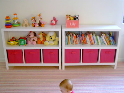 diy open bookshelves with storage