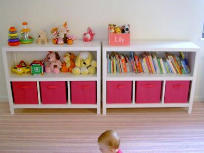 diy open bookshelves with storage