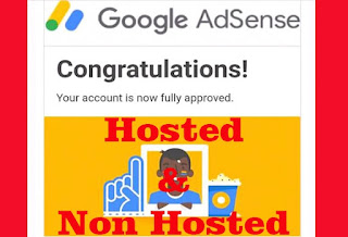 perbedaan akun adsense hosted dan non hosted