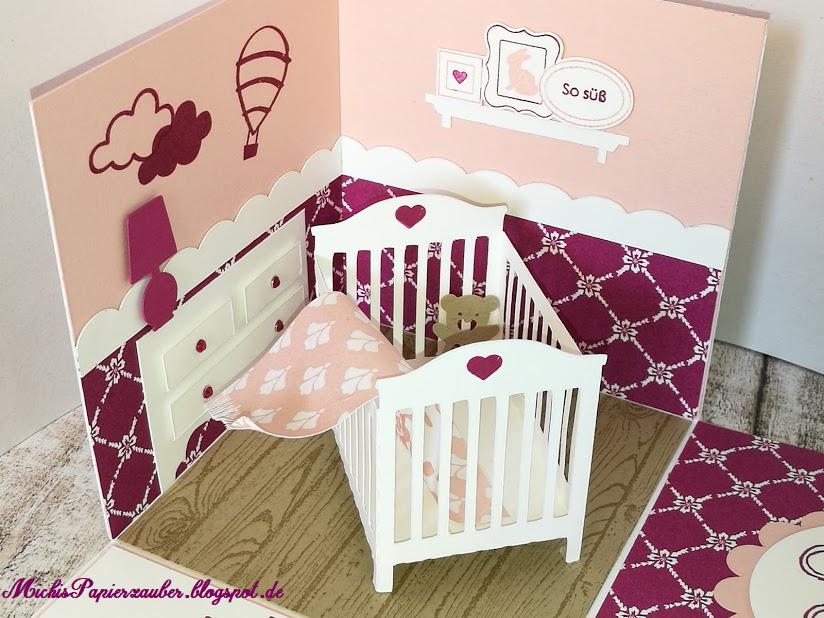 Michis papierzauber baby 39 s explosionbox - Kinderzimmer michi ...