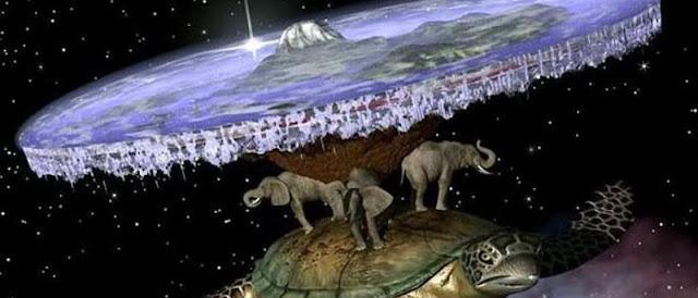 Desde os povos mais antigos a crença numa Terra Plana já existia!