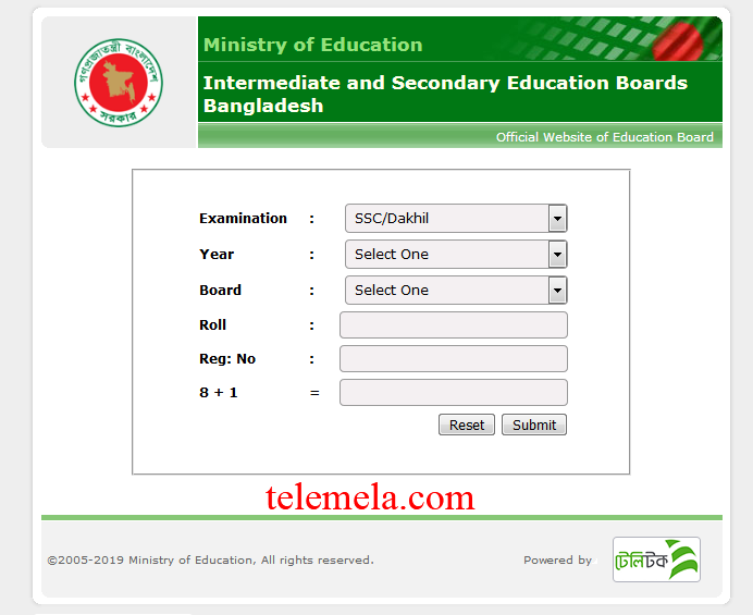 SSC Result 2020 Bangladesh