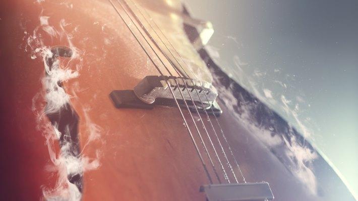 Wallpaper 3: Guitar