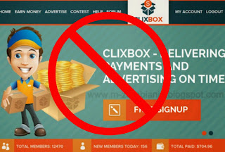 ClixBox.org, ClixBox, SCAM
