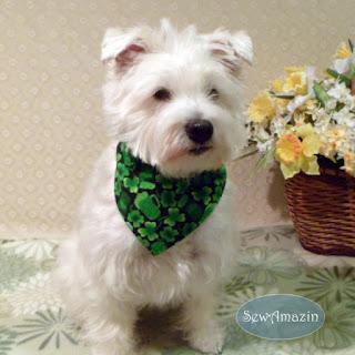 St. Patrick's Day Bandana
